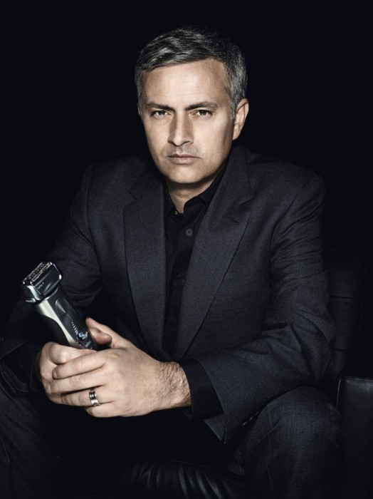 Braun announce the coach of football club Real Madrid, the extremely sexy and stylish Jose Mourinho as global brand ambassador…